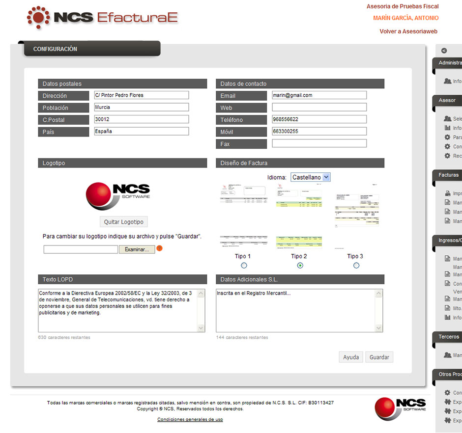 Software NCS Efacturae