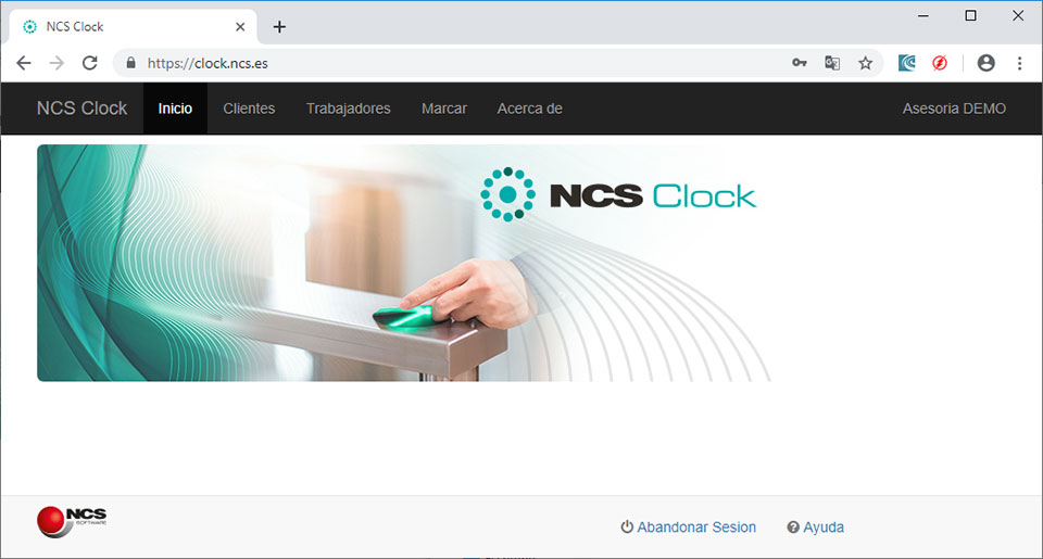 Software NCS Clock