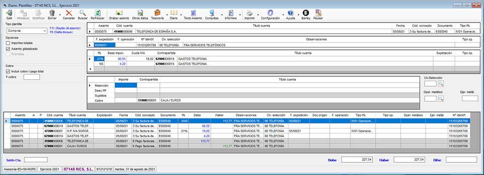NCS Contabilidad - Software Contabilidad - Programa contabilidad ...