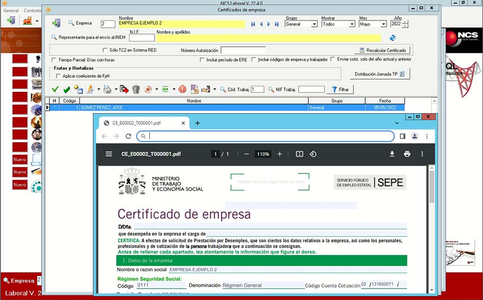 Software NCS Laboral